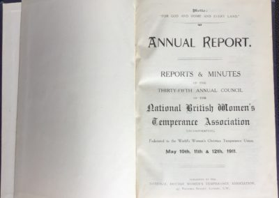 Annual Report 1911